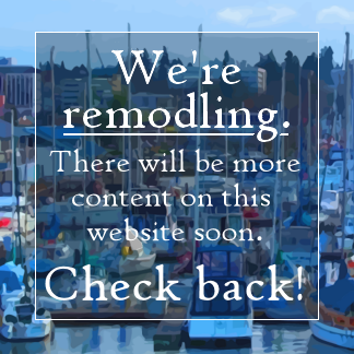 We're remodling. There will be more content on this website soon. Check back!